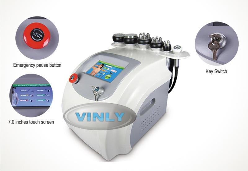 slimming rf multifunctional beauty Vinly fat cavitation machine