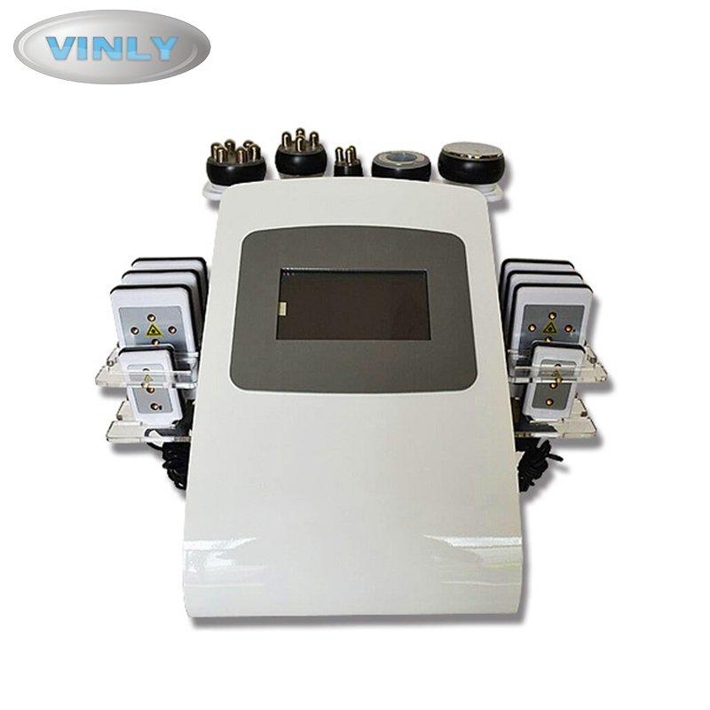 6 in 1 lipo laser cavitation vacuum rf slimming machine  VL-9084