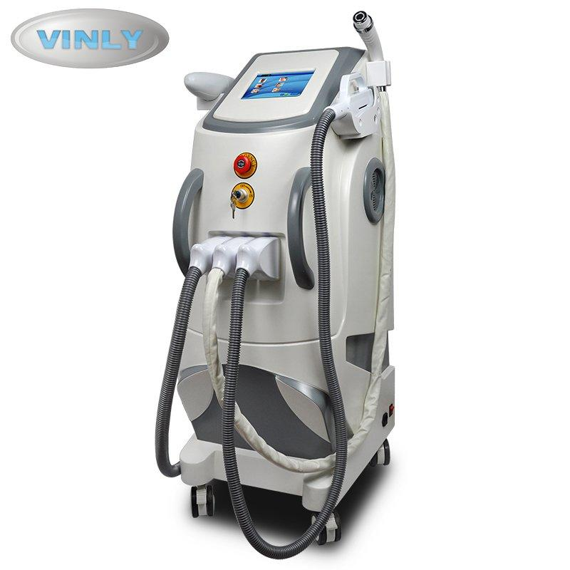3 in 1 Ipl Elight Rf Permanent Hair Removal Laser Tattoo Removal Beauty Machine VL-5567