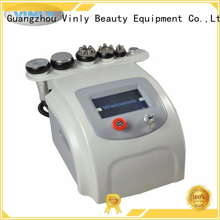 Vinly Brand vacuum slimming beauty cavitation rf vacuum machine lipo