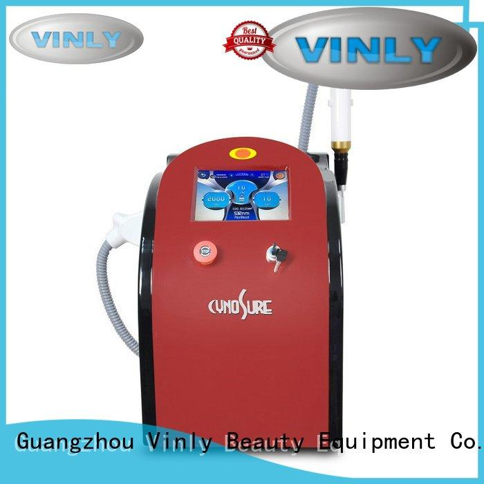 stationary picosecond laser beauty switched Vinly