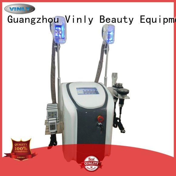 lipolaser cryo handle slimming Vinly slimming machines suppliers