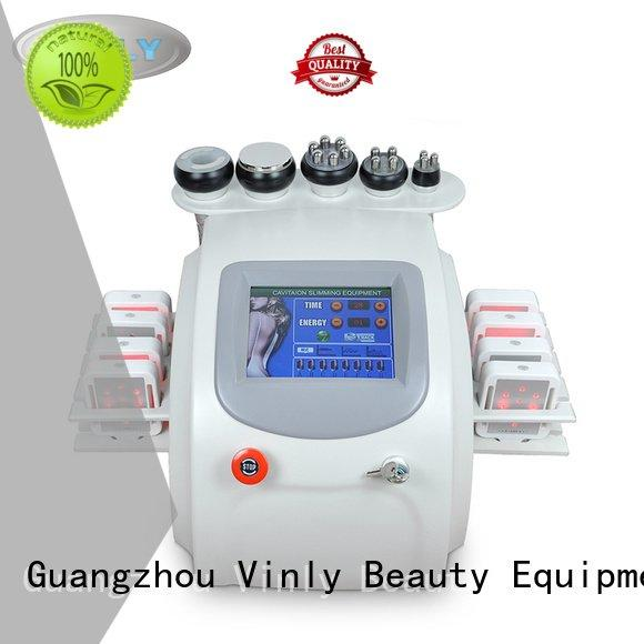 fat cavitation machine machine Vinly Brand cavitation rf vacuum machine