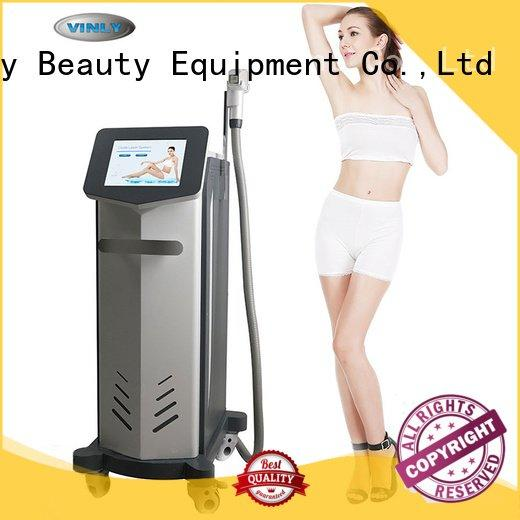 Vinly permanent hair machine laser hair removal technology laser
