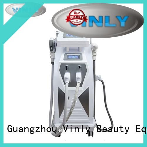 Q switched E Light Hair Removal Machine wholesale for beauty