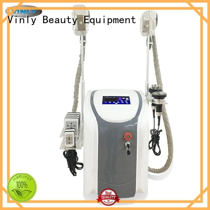 Vinly 2 cryo handle thigh slimming machines series for body shaping