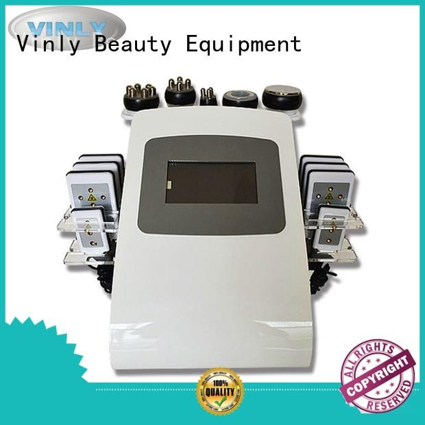 Vinly multifunctional ultrasonic cavitation machine series for body shaping