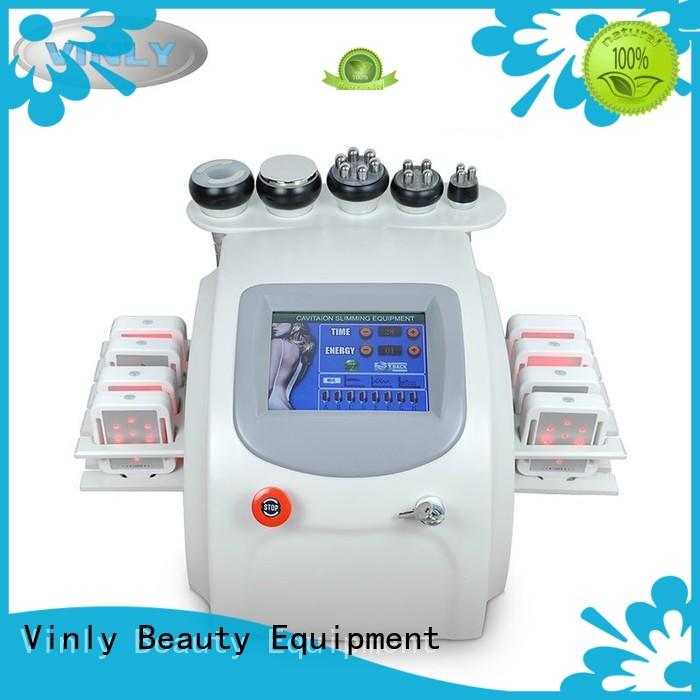 Vinly professional rf beauty machine 6 in 1 for skin improving