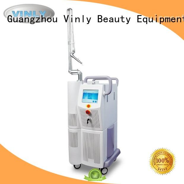 Quality Vinly Brand fractional co2 co2 laser cutting machine