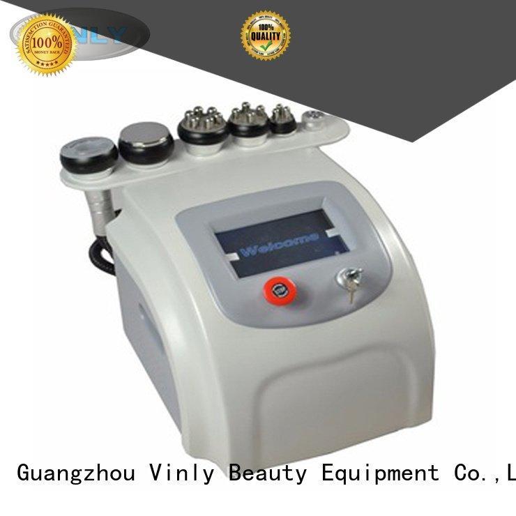 Vinly fat cavitation machine beauty rf lipo machine