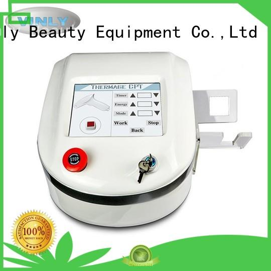 Quality Vinly Brand rf skin tightening machine for home thermage