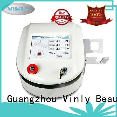 Vinly skin rf skin tightening machine for home lifting