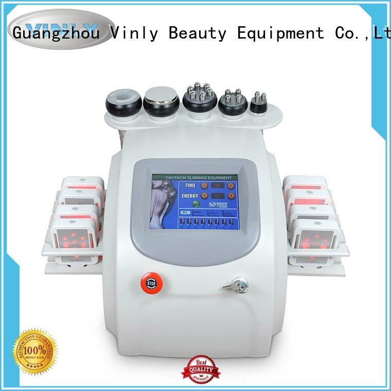 cavitation rf slimming vacuum Vinly fat cavitation machine
