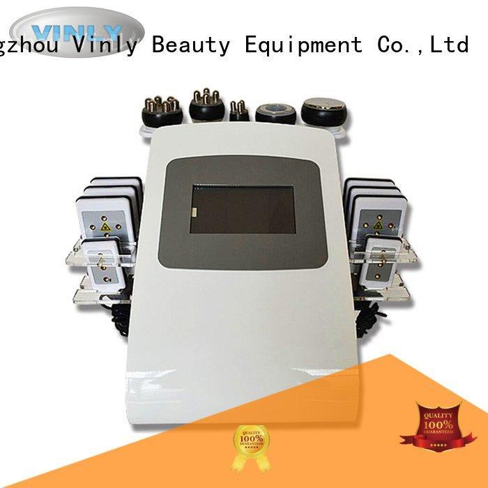 lipo cavitation rf vacuum machine Vinly fat cavitation machine