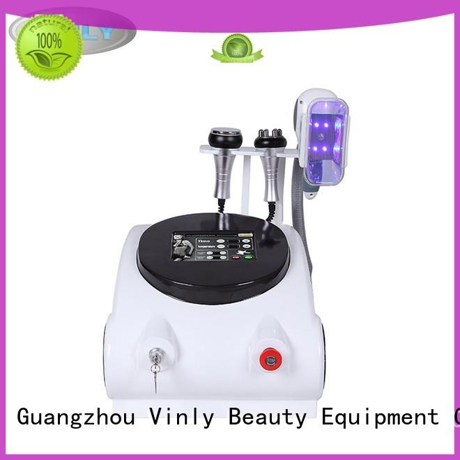 handle cryo cryolipolysis two slimming machines suppliers Vinly Brand