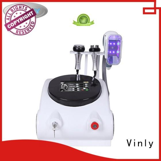 abs material cryo slimming machine 4 cryo handle for body shaping Vinly