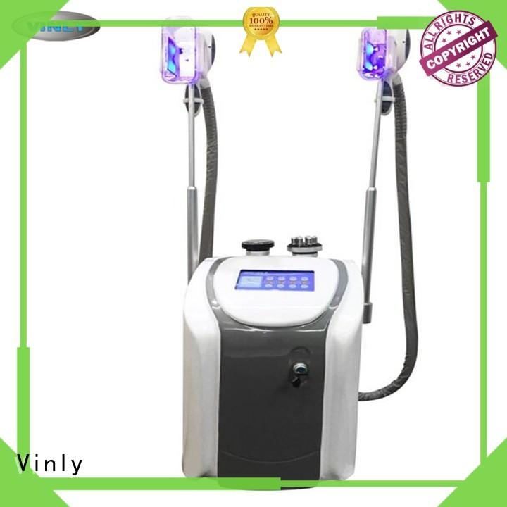 abs material cryotherapy machine 4 cryo handle for breast enhancing Vinly