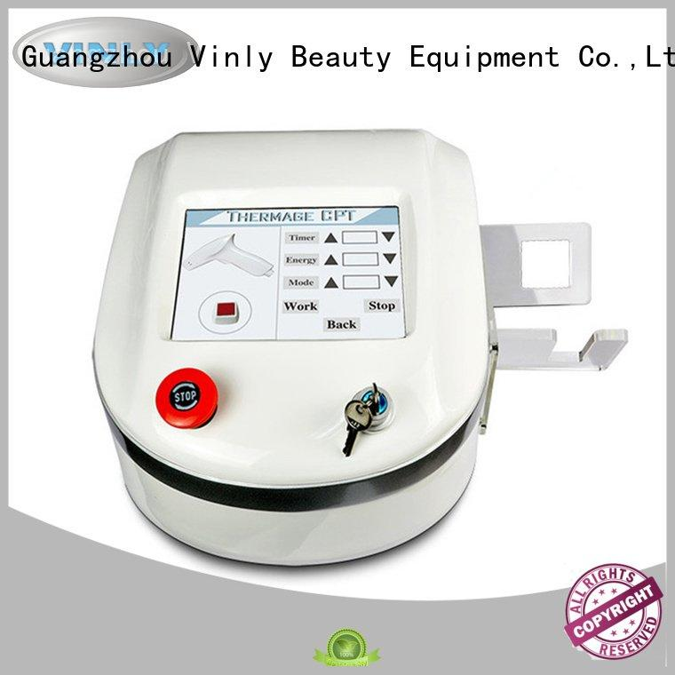 Custom lifting face lifting device thermage rf skin tightening machine for home