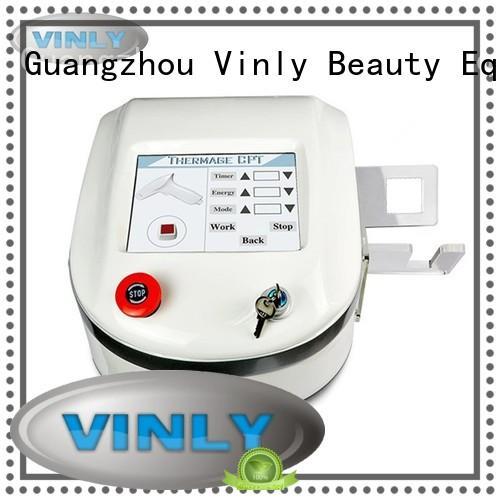 Vinly Brand machine lifting rf skin tightening machine for home skin supplier