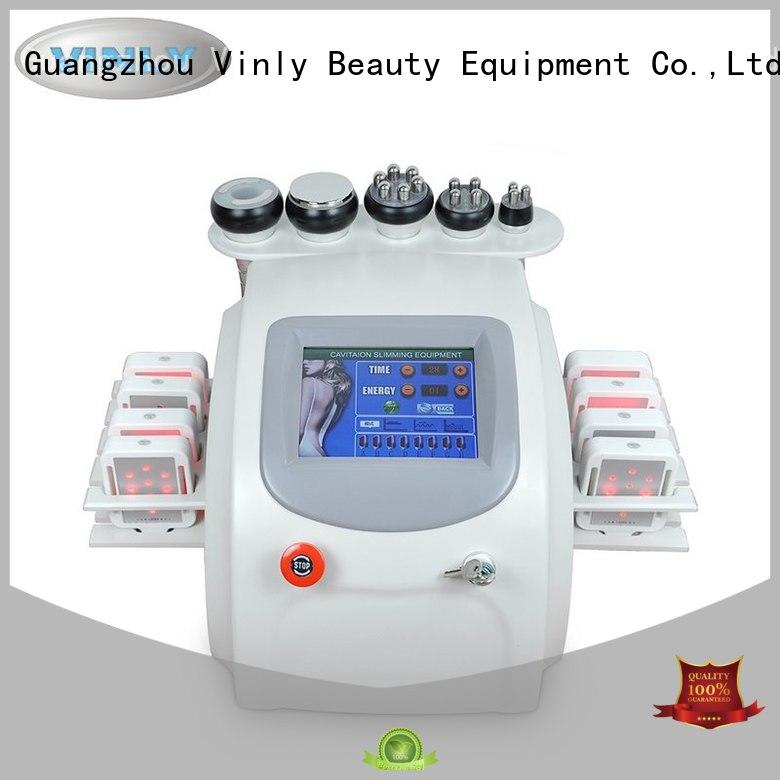 Hot vacuum fat cavitation machine multifunctional Vinly Brand